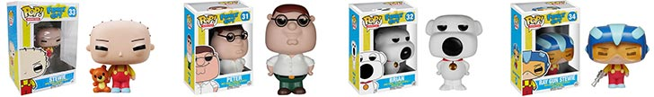 Family Guy Stewie Griffin Pop Vinyl Figure