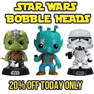 Star Wars Bobble Heads Sale