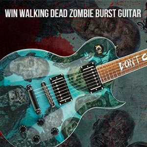 Walking Dead sweepstakes Zombie Burst Guitar