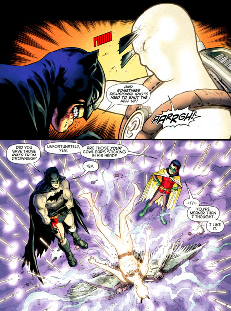 Batman and Robin #22 Eararang