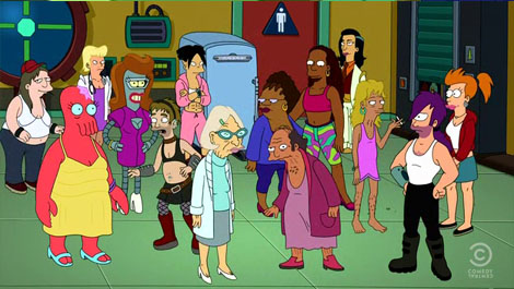 futurama gender bender l7 world