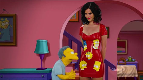Katy Perry Simpsons - The Fight Before Christmas