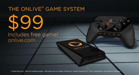 OnLive game system