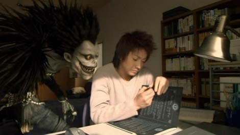 Death Note movie Kira