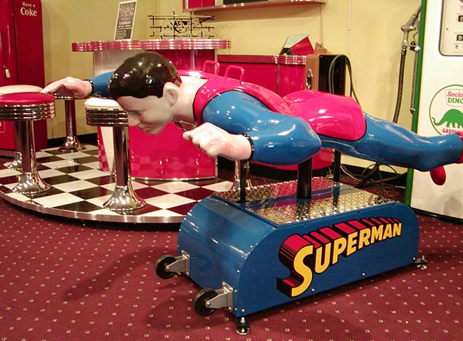 Superman Kiddie ride
