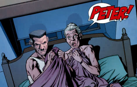 Amazing Spider-Man #592 Aunt May J. Jonah Jameson