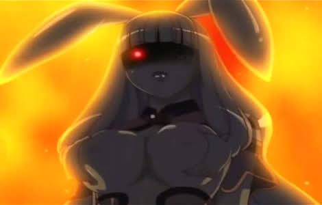 Queen's Blade - Mellona breasts bunny