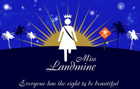 Miss Landmine pageant