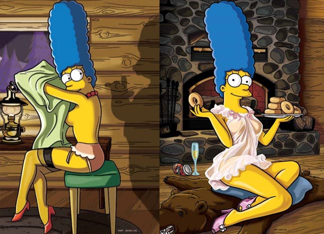 Marge Simpson Playboy November 2009