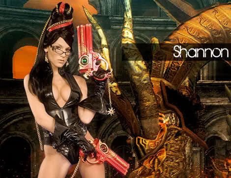 Bayonetta Poses for Playboy Shannon James