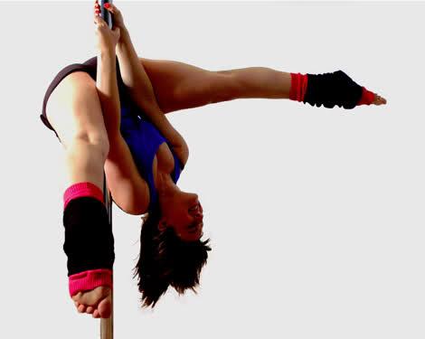 Olympic pole dancing