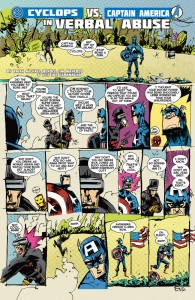 Avengers Vs. X-Men - Cyclops vs Captain America