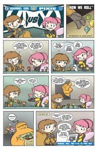 Avengers Vs. X-Men - Squirrel Girl vs Pixie