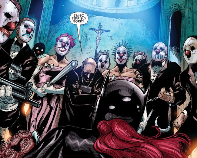 Batgirl wedding