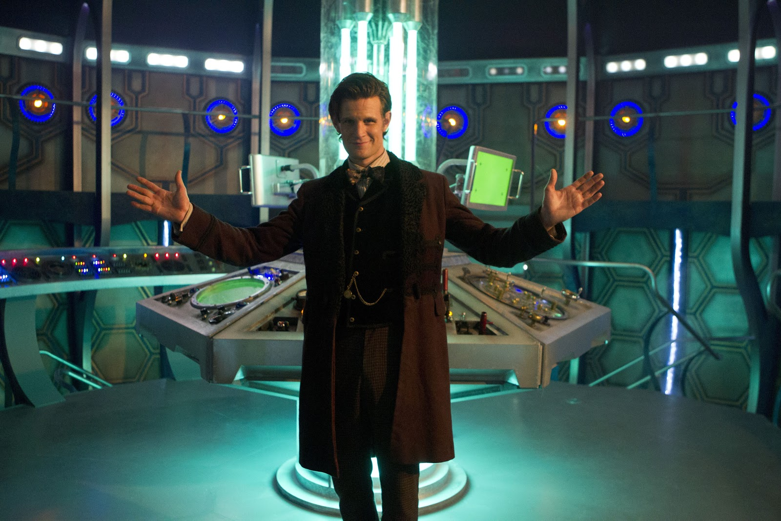 Doctor Who Christmas Special New TARDIS