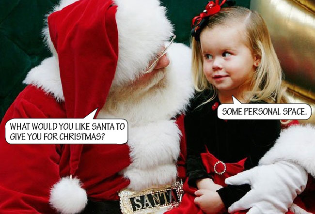 Mall Santa Told to Keep Hands His Off Kids