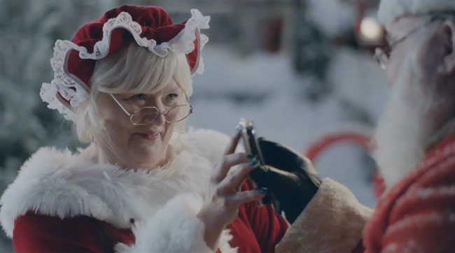 Mrs. Claus has Been Very Naughty