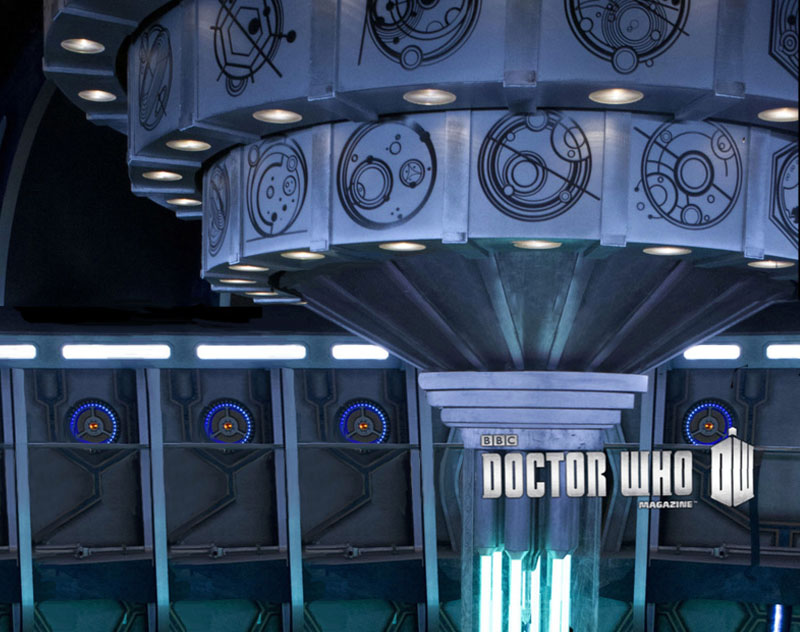 New TARDIS and Opening for Doctor Who Christmas Special 2012