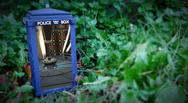 Real-Life TARDIS Uses Augmented Reality