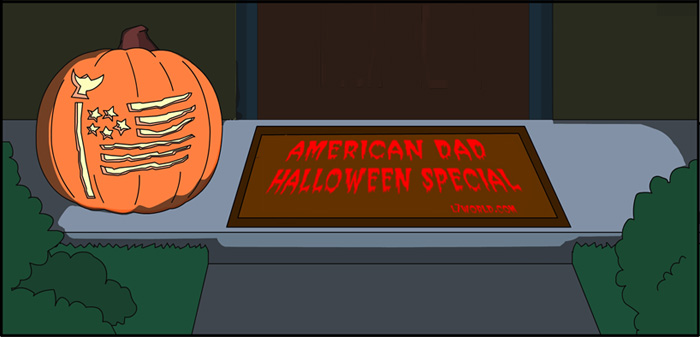 American Dad Halloween Special L7 World