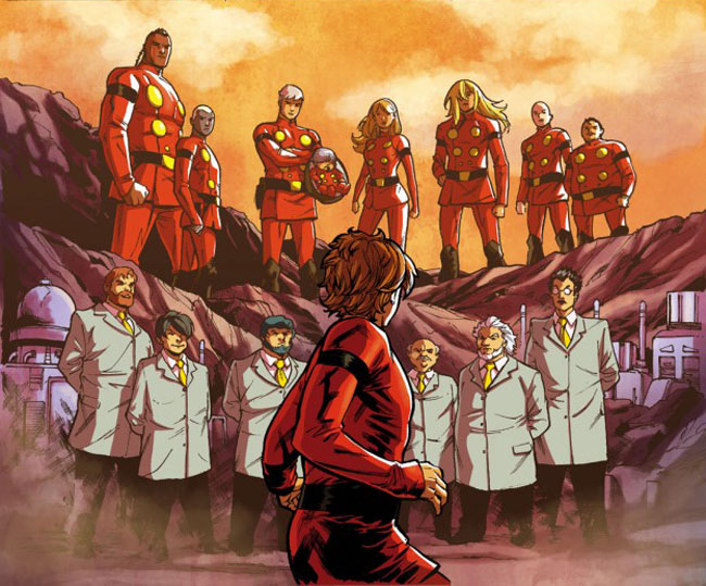 Cyborg 009 Graphic Novel Preview