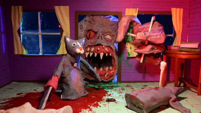 Evil Dead Claymation is Perfectly Evil