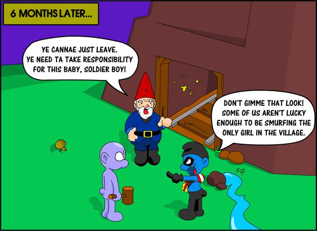 Smurfmen Chapter 3-4