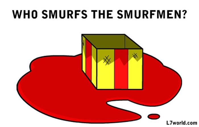Smurfmen Chapter 1-1