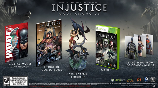 Injustice - Gods Among Us video game