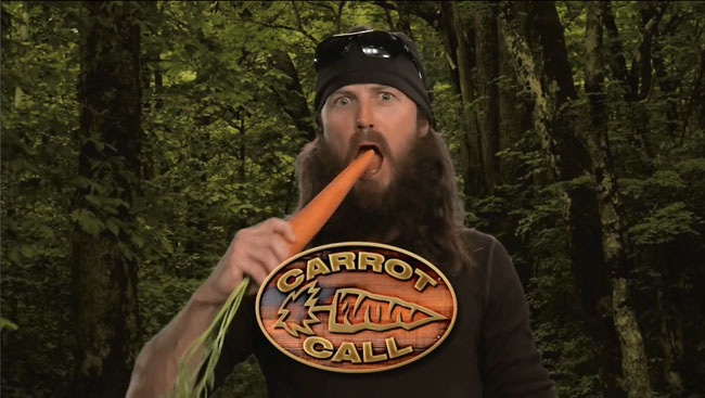 Morrissey Ducks Out on Jimmy Kimmel (Duck Dynasty parody Carrot Call)