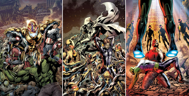 Age of Ultron covers