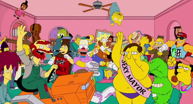 Simpsons do Harlem Shake