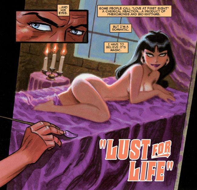 Vampirella NuBlood - Bruce Timm Lust for Life Vampirella #20 (1999)