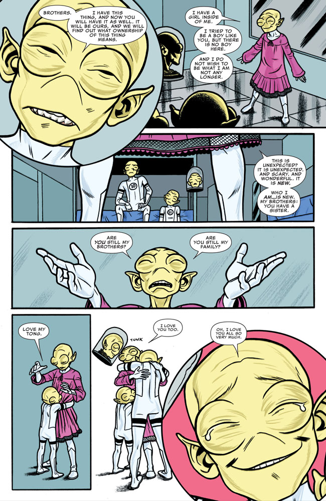 from Sonny transgender comic books