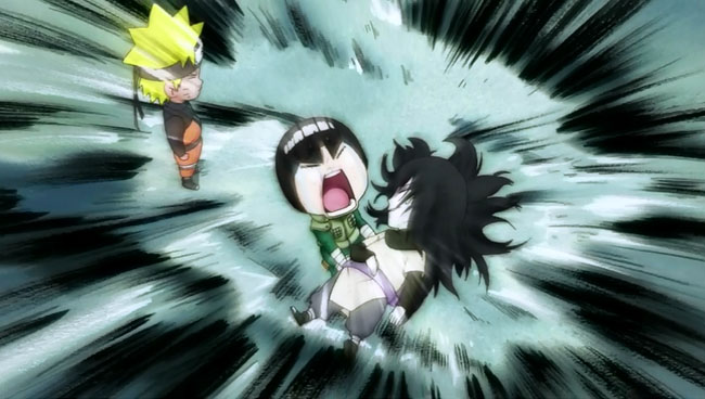 Naruto and Sasuke Final Battle (Rock Lee)