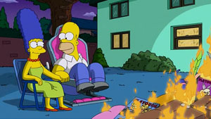 Simpsons What Animated Women Want - sex chair