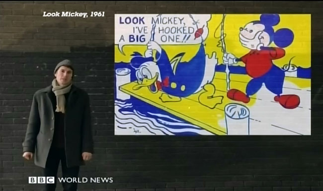 The Culture Show Features Roy Lichtenstein