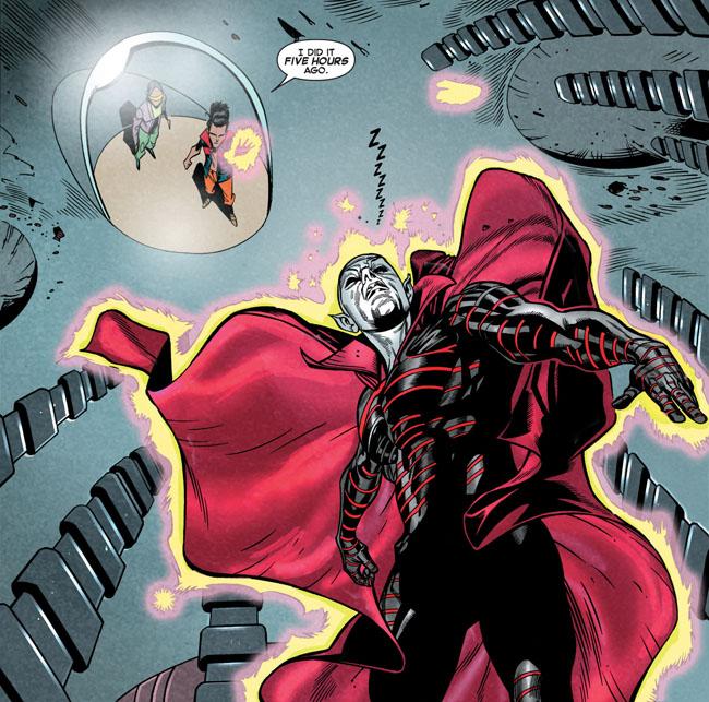 X-Men Legacy #9 - I did it five hours ago (Watchmen parody)
