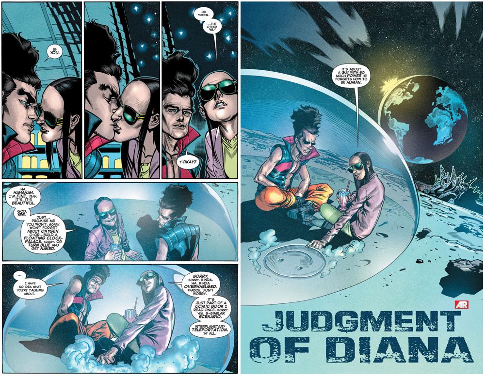 X-Men Legacy #9 - X-Men Parodies Watchmen