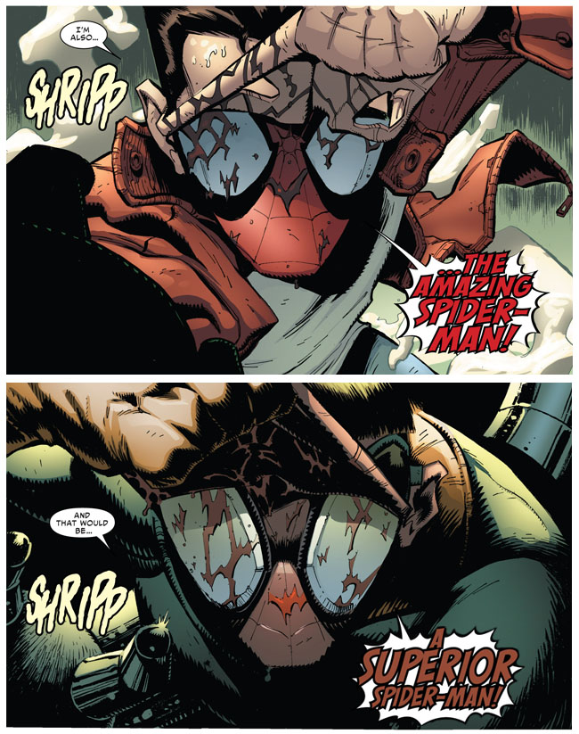 Amazing Spider-Man VS Superior Spider-Man (Superior Spider-Man #19)