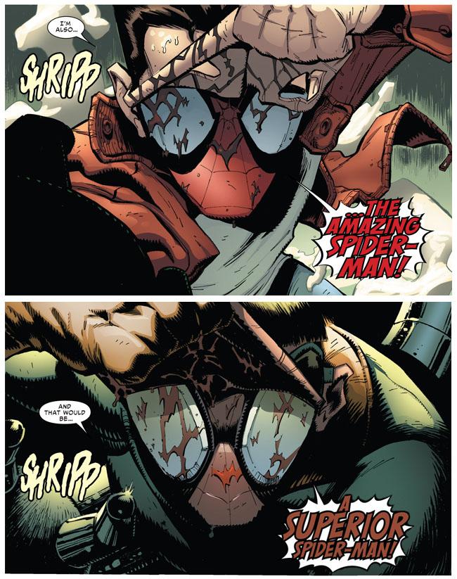 Amazing Spider-Man VS Superior Spider-Man (Superior Spider-Man #19)