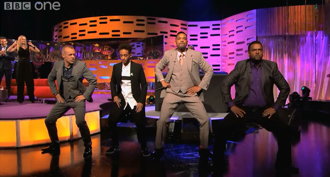Fresh Prince and Carlton Dance on Graham Norton Show