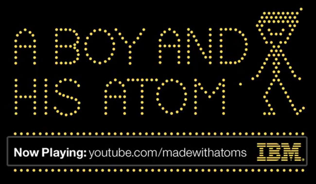 IBM Movie Made with Atoms