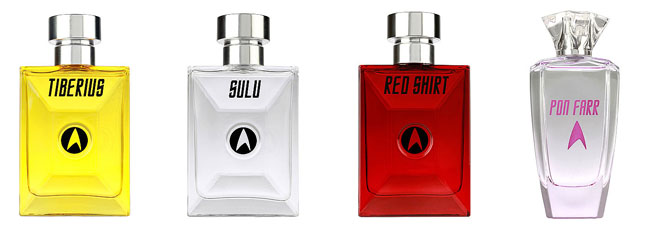 Star Trek Cologne and Perfume (Tiberius Sulu Red Shirt Pon Farr)