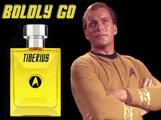Star Trek Cologne and Perfume (Captain Kirk)