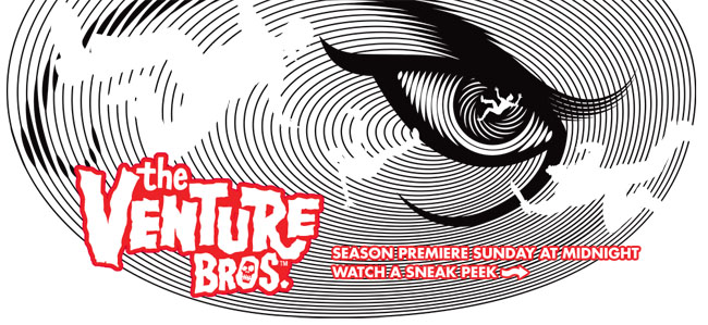 Venture Bros. Season Premiere Sneak Peak