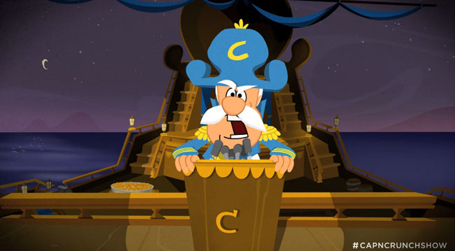 Cap'n Crunch Not a Real Captain