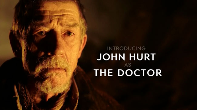 Doctor Who - Name of the Doctor (John Hurt)