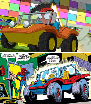 Spider-Mobile (Ulimate Spider-Man Itsy Bitsy Spider-Man and Amazing Spider-Man 130)