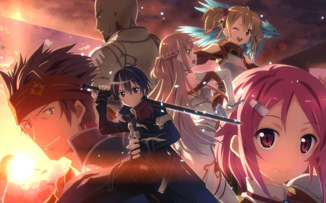 Toonami New Anime Sword Art Online